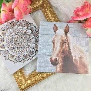🌈 NEW STUNNING ART CANVAS HORSE /MANDELA